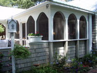 Arched Screened Porch