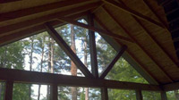 Open Screened Gable